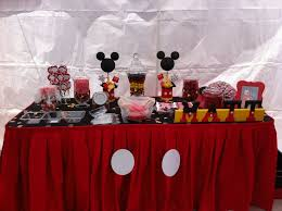 mickey mouse table l mickey mouse candy table mickey mouse birthday party mickey