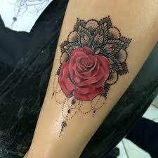 de tatuajes de rosas tatuajes de mandalas para mujeres arte reflejada en la piel
