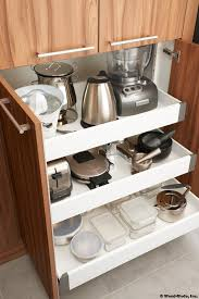 Kitchen Explore Your Kitchen Appliance by Small Pull Out Appliance Storage Organizer Kitchens Pinterest