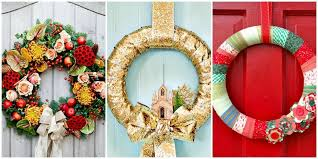 christmas reefs 17 festive diy christmas wreaths ideas you can easily make style