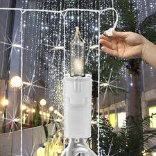 150 bulbs curtain light 12 drops 7 ft