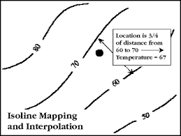 isoline map definition maps and scales san francisco estuary institute