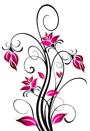 3309 best decoracion vinilo images on pinterest decorative beautiful scrolling flowers cross pattern