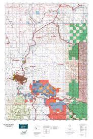 Washington State Topographic Map by Wa Gmu 654 Mashel Map Mytopo