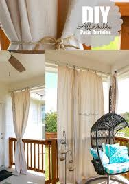 Patio Drapes Outdoor Best 25 Patio Curtains Ideas On Pinterest Outdoor Curtains