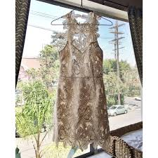 50 off free people dresses u0026 skirts saylor jessa foil lace