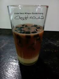 Teh Bunda dapur bunda inong es teh cincau coffee tea chocolate