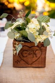 Handmade Centerpieces For Weddings by 25 Best Wooden Centerpieces Ideas On Pinterest Table