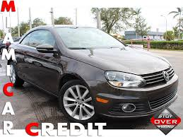 volkswagen convertible eos used 2014 used volkswagen eos komfort edition at miami car credit llc