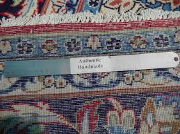 Red Blue Rug Red Blue Handmade Rug Charming Isfahan Quality 10 U0027 X 13 U0027 Persian