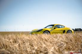 porsche cayman yellow 2017 porsche 718 cayman review gtspirit