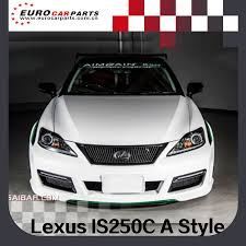 lexus is250c youtube new arrival lexus is250c 08y 10y aim style body kit fit for