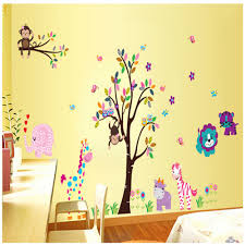 aliexpress com buy cartoon kindergarten bedroom decorate aliexpress com buy cartoon kindergarten bedroom decorate children room wall stickers for kids rooms vinyl wall decorative stickers mural wall pape from