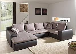 canape angle panoramique canapé d angle panoramique convertible couchage 2 personne beige