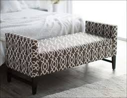 bedroom upholstered bed end bench end of bed storage bench with