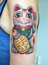 tattoo cat neko maneki neko tattoo tattoos pinterest maneki neko tattoo and tatt
