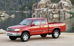 toyota truck recall toyota to recall 110 000 2000 03 tundras for frame corrosion