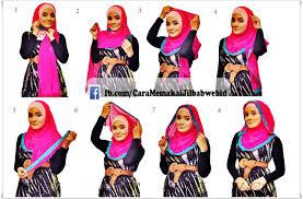 tutorial memakai jilbab paris yang simple tutorial hijab paris ala fatin shidqia tutorial hijab paling