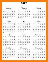 10 2017 calendars free pattern resume
