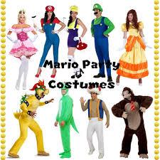 Mario Costumes Halloween Throw Mario Party Party Halloween Costumes Blog