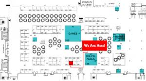 Smithsonian Floor Plan by Drupalcon Quotient Inc
