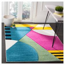 Peacock Blue Area Rug 5 U00273