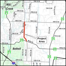 Bothell Washington Map by 35th Ave Se Corridor Phase Ii Sr 524 To 180th St Se