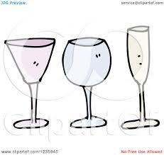 free clipart images wine glasses clip art decoration