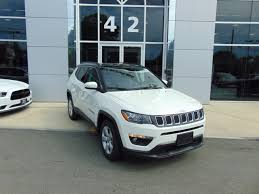 white jeep compass black rims 2018 jeep compass latitude in white clearcoat for sale in fall