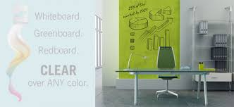 clear ideapaint makes any wall a dry erase board the american genius