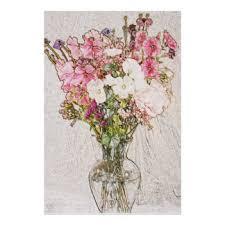 Pencil Sketch Of Flower Vase Pencil Sketch Posters Zazzle