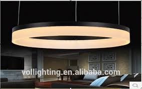 Big Ring Design D120 150cm Round Acrylic Pendant Light Led Ceiling