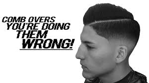 best haircut for comb over explained in detail youtube