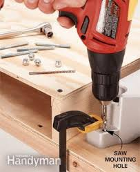 how to build a miter saw table family handyman