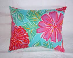 bedroom lilly pulitzer bedding for pillow with pink and green theme