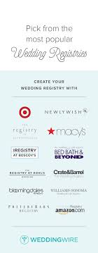 best place for bridal registry best 25 wedding registry checklist ideas on wedding