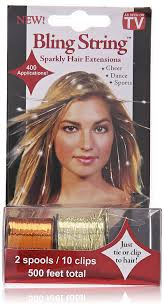 as seen on tv hair extensions bling string hologram gold hair extensions