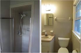 1980 u0027s bath renovation sleek and modern bathroom remodeling from
