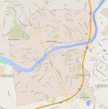 Google Maps Massachusetts by Lawrence Massachusetts Map