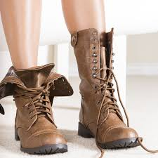 sweater lined foldover combat boots combat boots with flaps coltford boots
