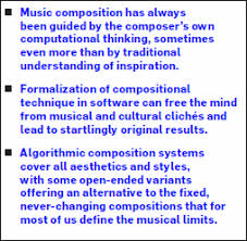 resume original speed in music algorithmic composition computational thinking in music july