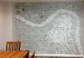 historic wallpaper custom printed historic ordnance survey wallpaper maps