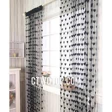 White Polka Dot Sheer Curtains Fancy Polka Dot Sheer Curtains Designs With Sheer Window Curtains
