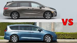 2018 honda odyssey vs 2017 chrysler pacifica youtube