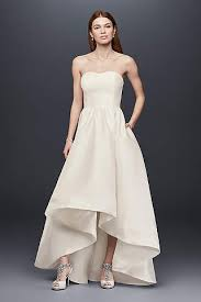 wedding dress simple casual informal wedding dresses david s bridal