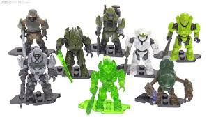 mega construx halo challenger series figures full review youtube