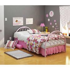Twin Size Beds For Girls by Girls Metal Kids U0026 Teens Bedroom Furniture Ebay