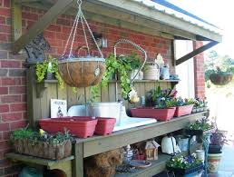 Potting Bench Kits 187 Best Potting Benches Images On Pinterest Garden Sheds