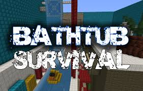 Minecraft Bathroom Designs by Bathtub Survival Minecraft Toilet Challenge Map Surviving