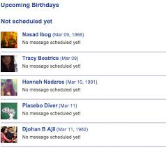 how to schedule facebook birthday greetings in advance quicktip